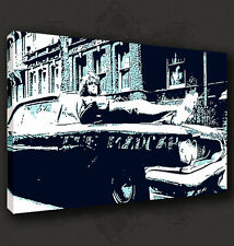 SYD BARRETT ICONIC MUSIC CANVAS PRINT POP ART DESIGN MANY SIZES TO CHOOSE FROM