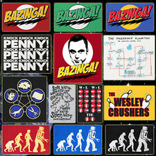 CHOOSE from Official The Big Bang Theory T-shirts Sheldon's Tee's