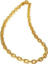 GAT Hawaiian Nautical Jewelry Gold Large Anchor Chain Necklace