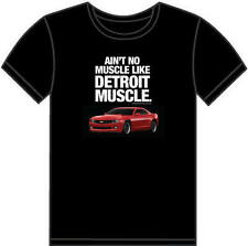 Chevrolet Camaro RS SS Ain't No Muscle Like Detroit Muscle Mens Tee Shirt