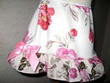 NEW Baby Girl Cream,pastel Pink,Red Floral frilly Hippy,Party,Retro  Skirt