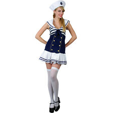 New Sexy Saucy Sailor Girl Ladies Fancy Dress Party Halloween Costume by Wicked