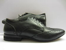 ALBERTO TORRESI A2083 BLACK  LACE UP BROGUE  SHOE
