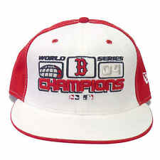 Red Sox 2004 World Series Champions 5950 Fitted Hat RED-WHITE