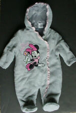 LKnew Disney Minnie Mouse Hooded Snow Suite Costume Baby Girl 3-6 Month Mo M