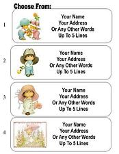 30 Cute Kids Personalized Address Labels