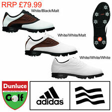 ADIDAS MENS GOLF SHOES ADICORE Z WATERPROOF LEATHER RRP £79.99 UK WIDE FITTING
