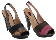 SIREN WASP WOMENS/LADIES SHOES/HEELS/PLATFORM PURPLE/BLACK AUS SIZES!