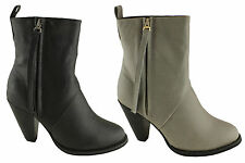 LAVISH AGNELLA WOMENS FASHION ANKLE BOOTS/HEELS/SHOES ON SALE NOW!!