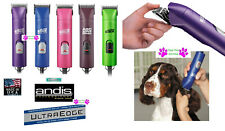 ANDIS UltraEdge Heavy Duty Pro Clipper&10 Blade AG A5 PET DOG CAT HORSE Grooming