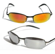 NEW MENS HALF RIMLESS AVIATOR SUNGLASSES STYLISH TRENDY SPORTY SHADES Coolook