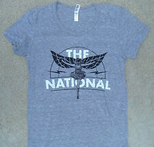 The National Concert Tour Tee Shirt Winged Dancer American Apparel Jr Sizes NEW