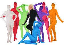 "SHADOWSUITS ALL IN ONE DELUXE ZENTAI SUITS 8 COLOURS UPTO 6ft 4"" FDDD"