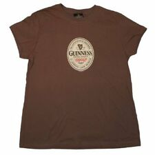 New Authentic Guinness Extra Stout Juniors Brown T-Shirt