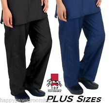 PLUS SIZE GROOMER Barber STYLIST Nylon Grooming Hair/Water/Stain Resistant PANTS