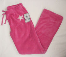 NWT New Dallas Cowboy Fleece Lounge Pajama Sweat Pants Jr Women Pink Sz S-XL