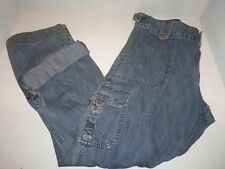 Lee Women's Blue Denim One True Fit Roll-Up Cargo Jeans SIZES! NWT