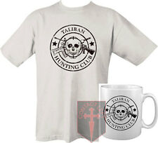 Taliban Hunting Club T-shirt - White and Mug ( High quality military Marines SAS