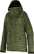 Special Blend Siryn Ski Snowboard Jacket Blowing Lines Stout Womens