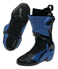 PUMA 1000 v3 racing motorcycle boots, black-blue, BRAND NEW!