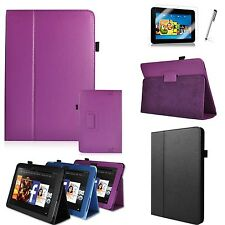 "3in1 PU Leather Case Cover Stand W/ Stylus For Amazon Kindle Fire HD 8.9"" Tablet"