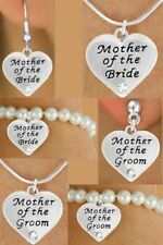 WEDDING  Mother Groom Bride Heart Church Love Bridal Shower Mom  Formal  Jewelry
