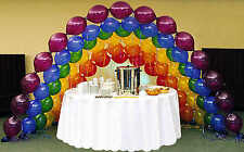 "Link-O-Loon Premium Crystal 25 Balloons 11"" Helium Quality Wedding Balloon Arch"