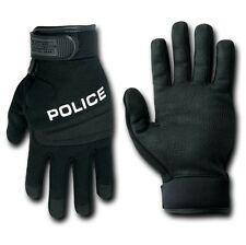 Black Digital Leather Tactical Police Duty Hatch Gloves Glove Pair S M L XL 2XL