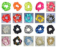 Satin Scrunchie Hair Elastic Many Colours Fast Postage