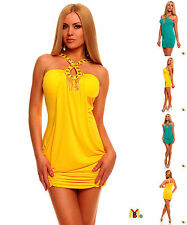 1573 UK NEW SEXY CLUBWEAR SUN SLEEVELESS SHORT LENGTH  WOMEN DRESS ONLINE SHOP