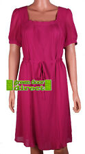 Dickins &  Jones Red Pink Pleated Party Cocktail Dress 10 12 14 16 RRP £120  NEW
