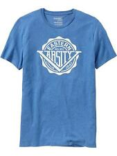 "New Men's OLD NAVY ""Eastern Varsity League""  Tees Shirts"