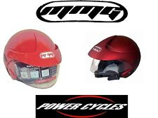 NEW MMG OPEN FACE MOTORCYCLE SCOOTER STREET RIDING HELMET *****DOT APPROVED*****