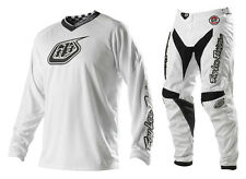 NEW TROY LEE DESIGNS TLD GP WHITE-OUT MX JERSEY PANTS GEAR COMBO WHT ALL SIZES