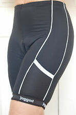 Jaggad Cycling Bike knicks pants shorts Black pockets Mens Womens Ladies S-XXL