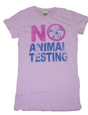 New Authentic Junk Food No Animal Testing Girls Tee Shirt
