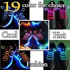LED Light Up Shoelaces Shoestring Flash Glow Stick Rave Party KTV Bar Disco Nice
