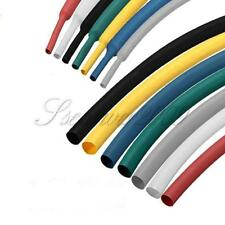 New 1mm-50mm 2:1 Polyolefin Heat Shrink Tubing Tube Sleeve Sleeving Wrap Color