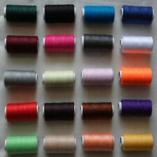 Free shipping 2 PCS 100% polyester thread 218 yards each Spool 21 color choices