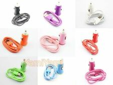 Car Charger USB 1M Cable For Samsung Galaxy S 3i9300 i9100 S Y Note SL R Ace