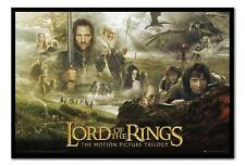 Lord Of The Rings Trilogy Large Magnetic Notice Memo Board Includes Magnets