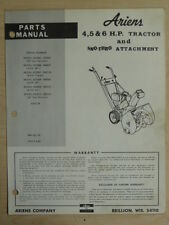 ARIENS SNO-THRO & ATTACHMENT 4, 5 , 6, H.P. TRACTOR
