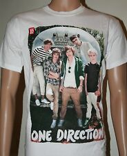 Official One Direction 2011-2012 White Tour T-Shirts Airstream