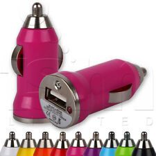 SMALL TRAVEL USB IN CAR CHARGER ADAPTER ADAPTOR PLUG FOR NOKIA MOBILE PHONES