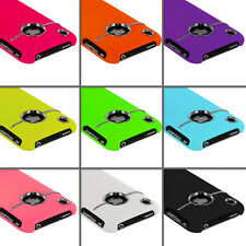 DELUXE COLOR COVER ULTRA THIN CASE WITH CHROME FOR iPHONE 3G S 3GS