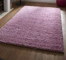 Pink Thick and Dense 5cm Soft Shaggy Shag Pile Rug In Lots Of Different Sizes