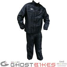 ROXTER WATERPROOF MOTORCYCLE BIKE SCOOTER 2 PIECE RAIN JACKET TROUSER SUIT KIT