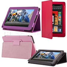 New PU Leather Folio Cover Case Stand For Amazon Kindle Fire