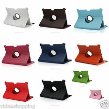 Leather Rotating 360° Stand Case Cover For Samsung Galaxy Tab P7510/P7500 10.1""