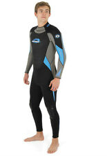 Osprey Urban Beach Mens Long Full Wetsuit Wet Suit Multi Colours, Sea Surf